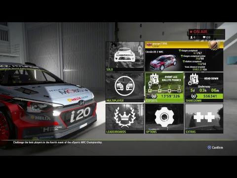 WRC 6 - eSports - Round 4 - Rallye France (LIVE)