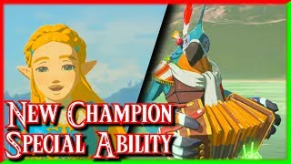 New Fifth Champion, Special Ability & Dungeon - Champion's Ballad DLC - Zelda Breath of the Wild