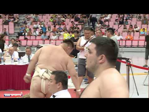 ::Men's Heavy-weight Final:: 2018 World Sumo Championship 男重