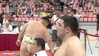::Men's Heavy-weight Final:: 2018 World Sumo Championship 男重量級決賽 世界盃相撲錦標賽 網路直播