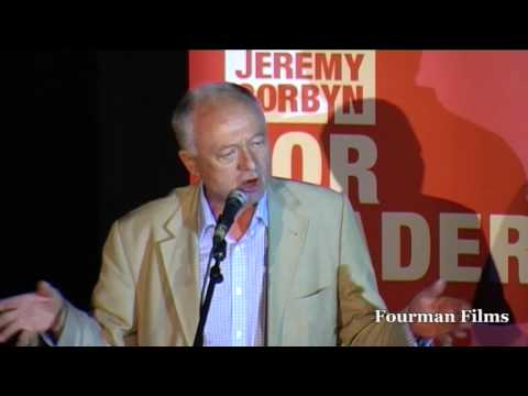 Ken Livingstone - Jeremy for Labour Leader - London Rally 03 08 15