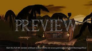 Super Smash Bros. Melee (DK Jungle) - 4K 60FPS Looping Background by Henriko Magnifico