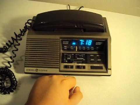 Ge General Electric Clock Radio