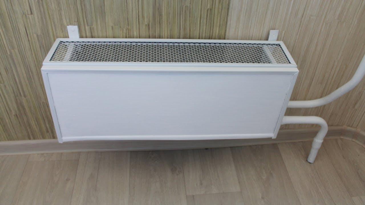 Монтируем Теплоотражающий экран под батарею, радиатор отопления .
