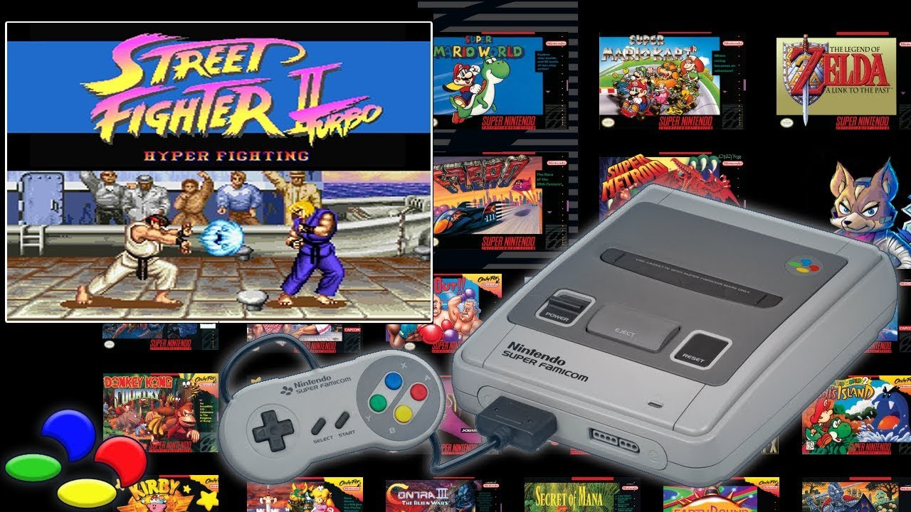 Street Fighter Ii Turbo Hyper Fighting Snes Mini First Look