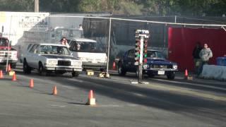 Mustang week 1 racing a Dodge Diplomat