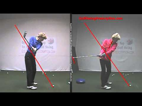 Great Before and After of Golf Swing Plane