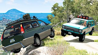 Off Road Crashes and Rally #31 - BeamNG DRIVE | SmashChan