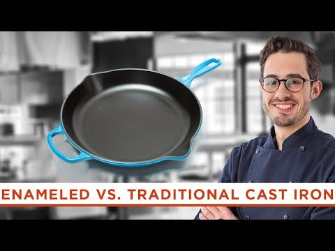 Are Enameled Cast-Iron Skillets Worth the Higher Price Tag?