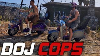 Dept. of Justice Cops #306 - Modified Faggios! (Criminal)