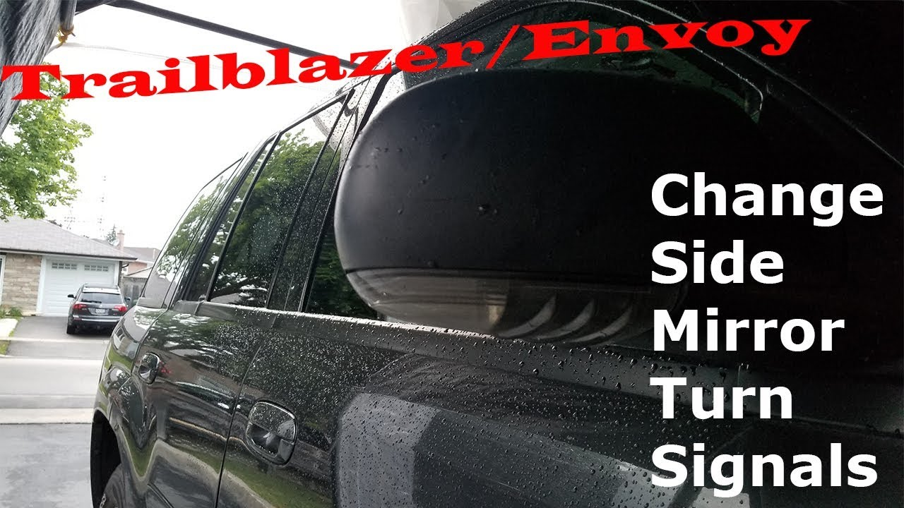 Trailblazer Envoy All Others Changing Side View Mirror Turn Signal Lights Led Upgrade