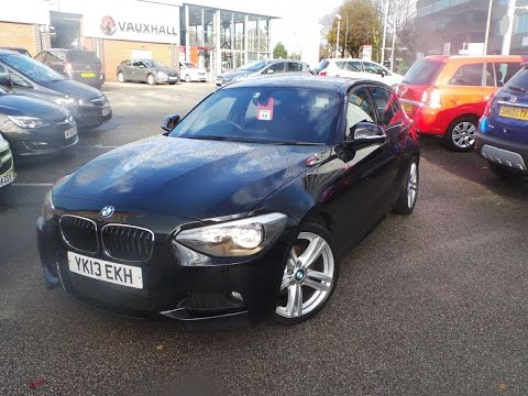 2013 13 BMW 1 Series 118d M Sport 5dr In Black