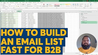 How To Build An Email List Fast For Your B2B Services