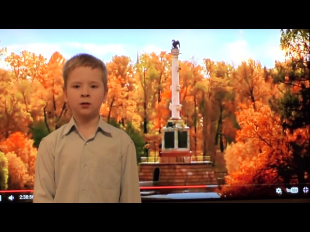 Изображение предпросмотра прочтения – СеменКарандасов читает произведение «Осенней позднею порою.....» Ф.И.Тютчева