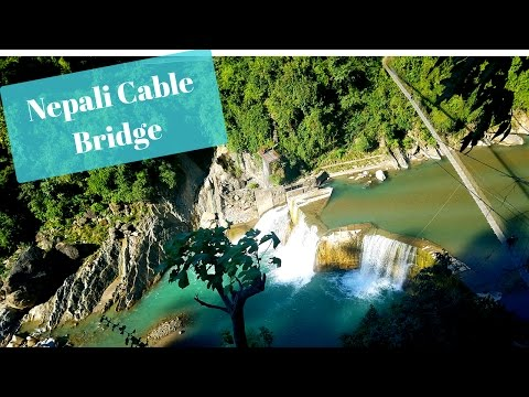 Traveling Through Nepal...Cable Bridges (Butwal-Tansen-Pokhara) Annapurna Mt Range