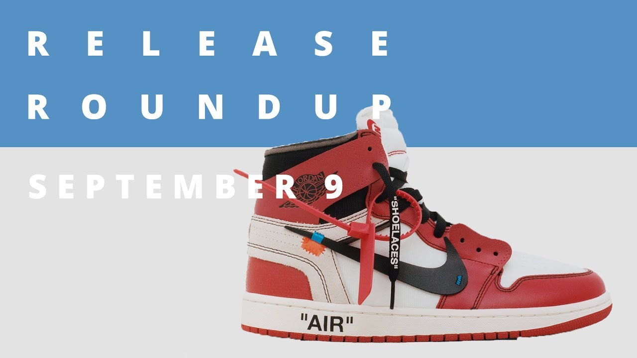 san francisco ee6bf 7917f Virgil Abloh Speaks on his OFF-White x Nike Collection  Release Roundup