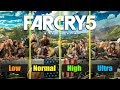 Far Cry 5 | Low vs Normal vs High vs Ultra Comparison