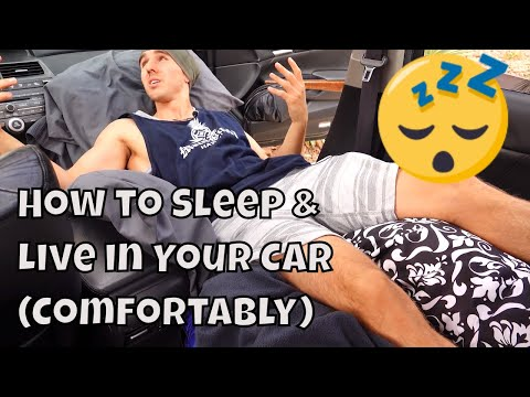 How to Sleep & Live in Your Car (Comfortably) | Principle 1
