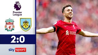 Mané & Jota sichern 2. Reds-Sieg | FC Liverpool - FC Burnley 2:0 | Highlights - Premier League 21/22