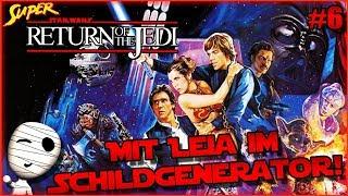 Mit Leia im Schildgenerator! - Super Star Wars Return of the Jedi #6 - Tombie Lets Play HD