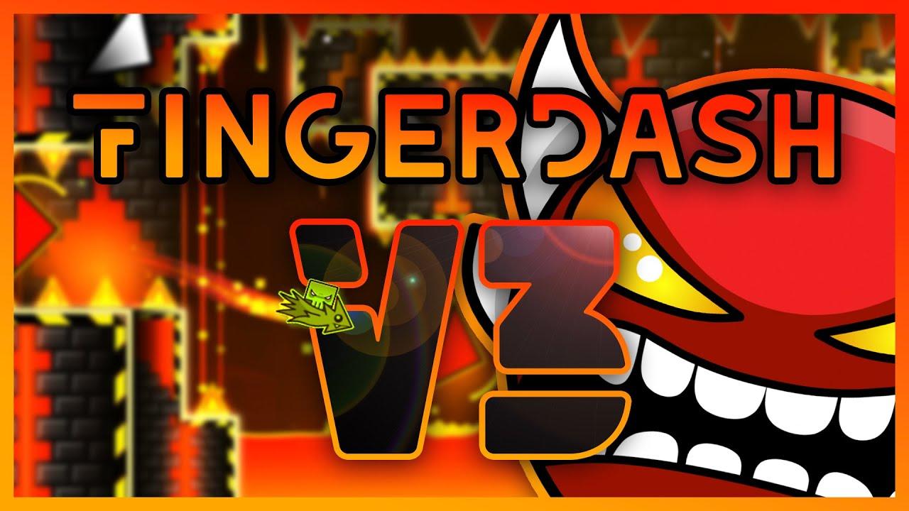 Fingerdash v3 - By Noriega (me) [Extreme Demon]