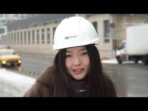 Динамика строительства ЖК Савеловский Сити за январь 2020