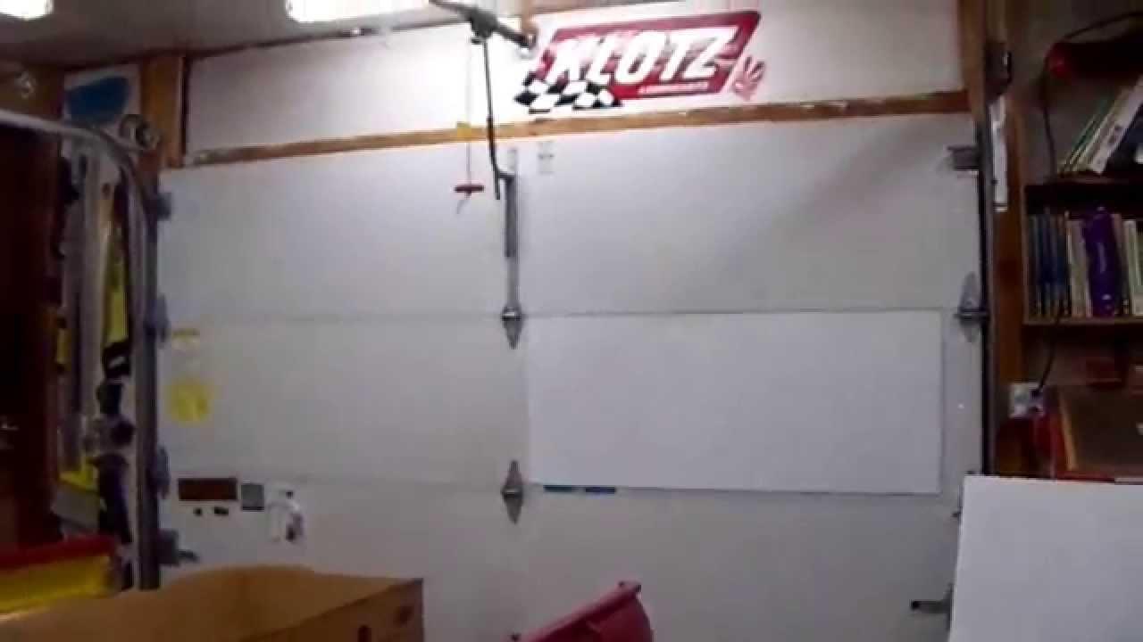 Shop White Board On Garage Door
