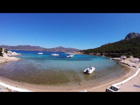 Greece 2017 Yacht timelapse