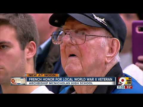 Local World War II veteran receives French Legion of Honour Medal