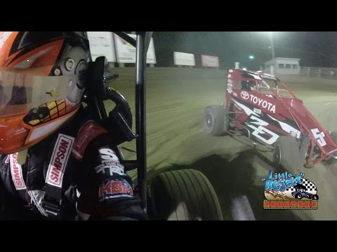 Christopher Bell Onboard | Belle-Clair Speedway | April 29th, 2016
