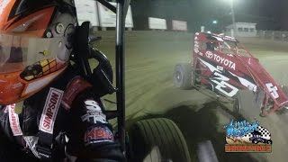 Belle-Clair Speedway Christopher Bell Onboard