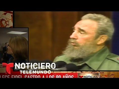 Mario Díaz-Balart habla sobre muerte de Fidel | Noticiero | Noticias Telemundo