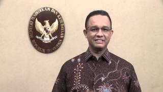 Sambutan Mendikbud - International Olympiad on Astronomy and Astrophysics 2015