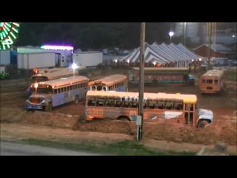 School Bus Demo Derby 2017 Washington County Agricultural Fair