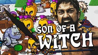 Спартанцы, гласскэнон и финал // Son of a Witch #11