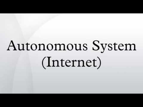Autonomous System (Internet)