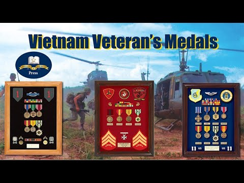 Vietnam Veteran's Medals, The Basic Load Every Vietnam Vet Should Have Recieved.