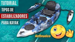 Vídeo: Estabilizador para kayak hinchable YFL-001