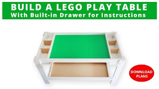 How to Build a Lego Storage Table | DIY Project | Woodworking Project | #Rocker Plywood Challenge