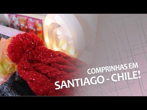 COMPRAS EM SANTIAGO - CHILE