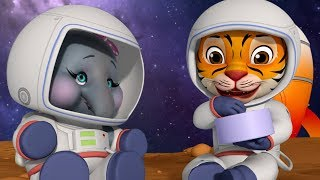 Two Brave Astronauts Fun Story | Bedtime Stories for Kids | Infobells