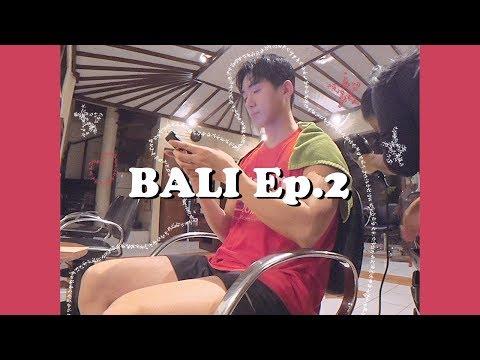 발리에서 생긴 일 Vlog Ep.2 쿠킹클래스, 우붓 아트 마켓, 현지에서 머리 자르기 브이로그💇🏼♂️ | Veiled 베일드