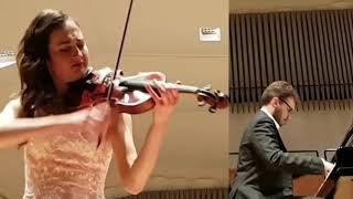 DVORAK- HUMORESQUE - duo E.Arizza A.Fiumara