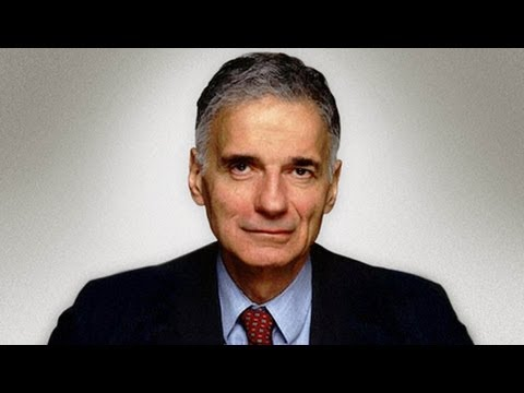 Nader on What To do Now