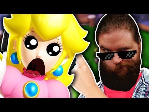 ICH BIN DER KRASSESTE UND ABONNIERT MICH. - Super Mario 3D World Finale!