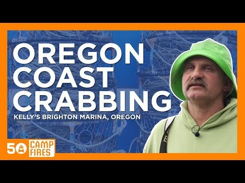 Crabbing On The Oregon Coast at Kelly's Brighton Marina