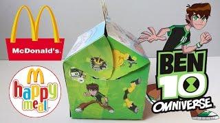 Хэппи Мил McDonald's [Ben 10](Смотрим на Хэппи Мил McDonald's, серия по мультсериалу Бэн 10. Что же попадется нам внутри, включай и смотри:) Вкон..., 2014-08-24T11:44:35.000Z)