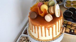 الكيك توبر بدون سكر خاص ل #تزيين #الكيك Sugar Sail cake topper والكارميل السائل للتزيين