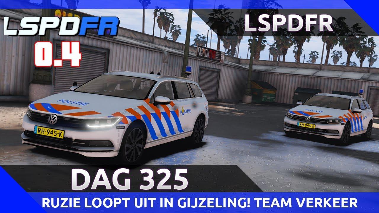 GTA 5 lspdfr dag 325 - Ruzie eindigt in gijzeling! Dienst met Team Verkeer