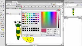 Flash animation lesson 3 butterfly